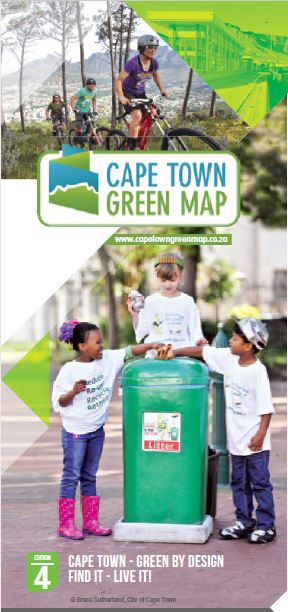 Cape Town Green Map Edition 4 Cover