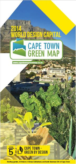 Cape Town Green Map Edition 5 Cover