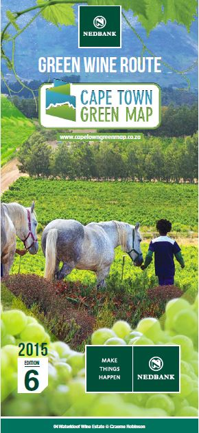 Cape Town Green Map Edition 6 Cover