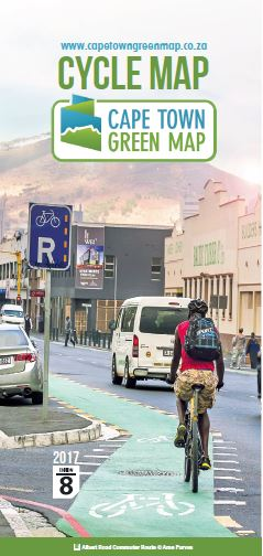 Cape Town Green Map Edition 8 Cover