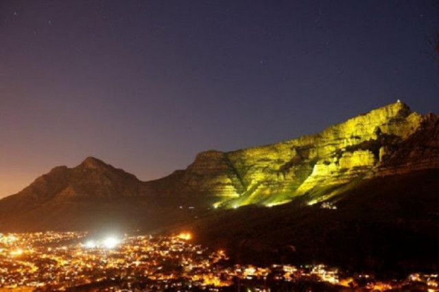 Table Mountain is #GoingGold